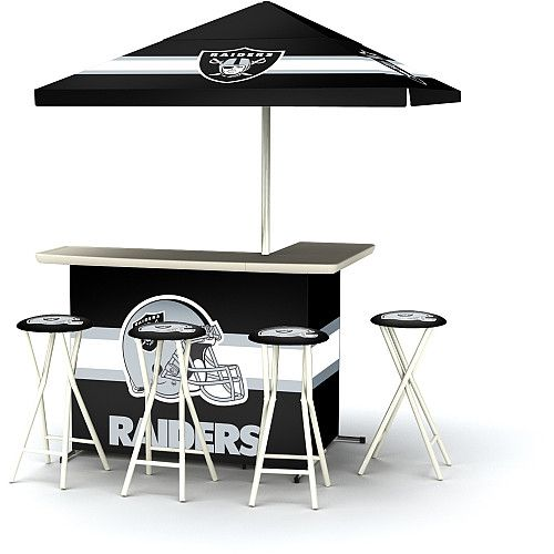 Awesome NFL Oakland Raiders Portable Bar   NFLShop.com
