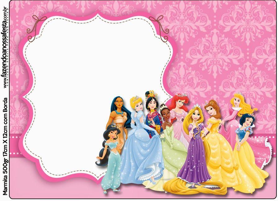 Disney Princess: Free Printable Candy Bar Labels ...
