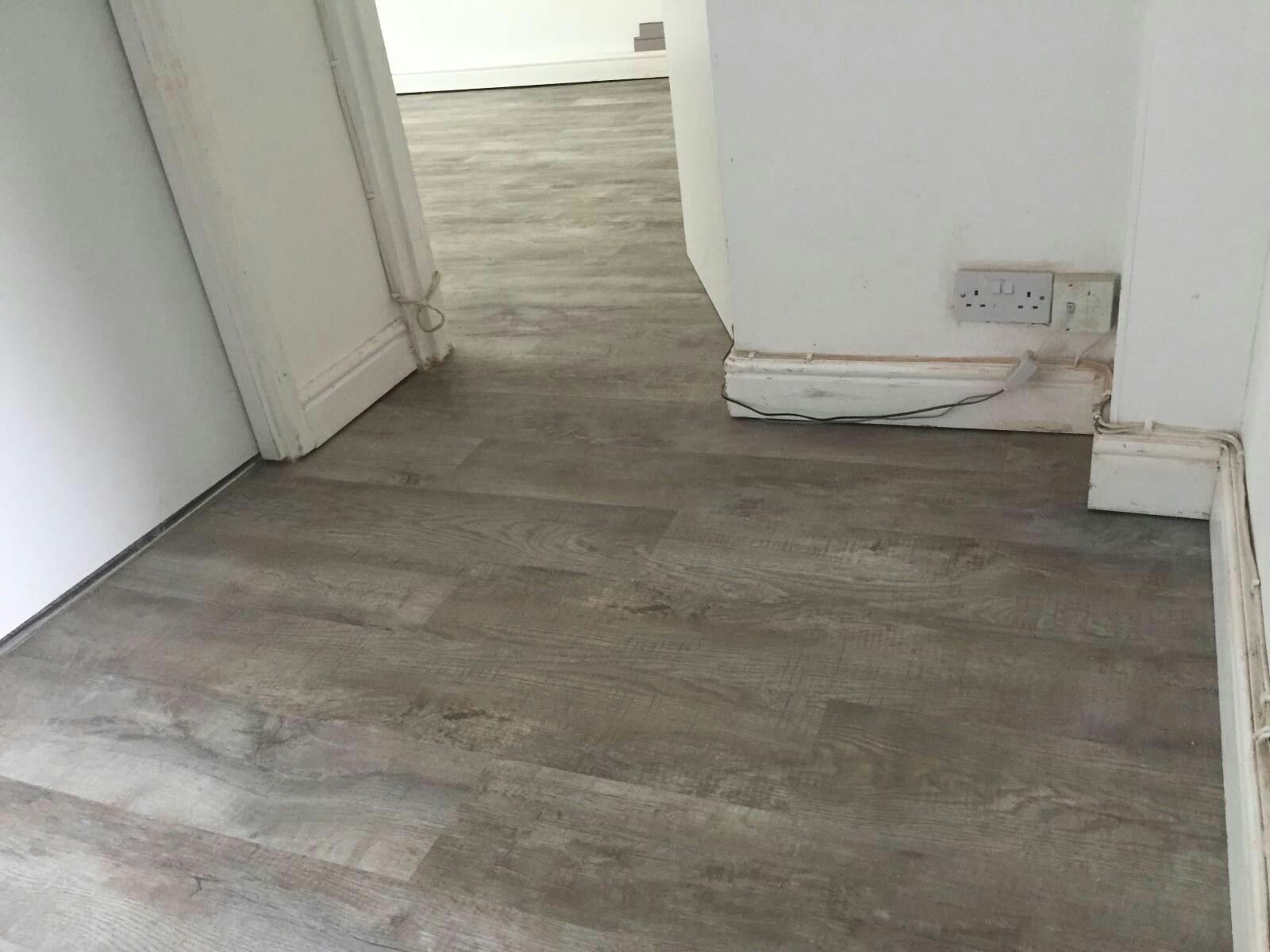 Mayfair Flooring Grey Lino Wooden Flooring