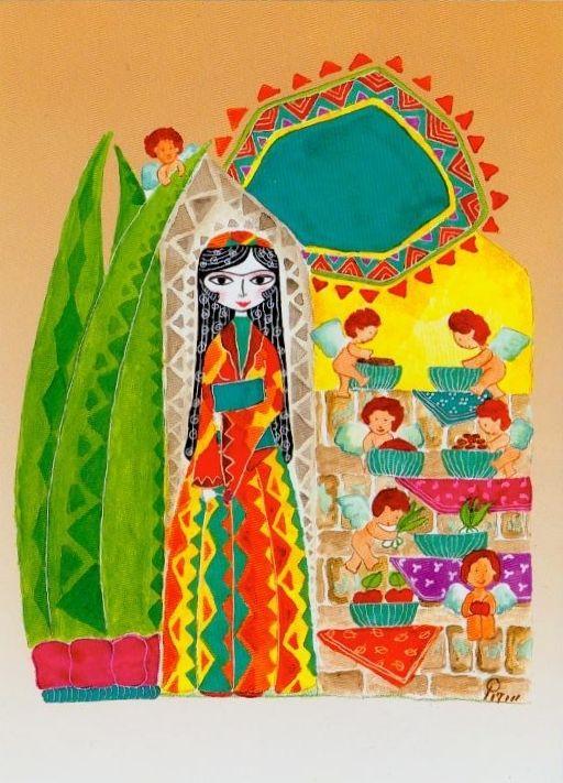 Nowruz greeting card spring pinterest iran illustrations and nowruz greeting card m4hsunfo