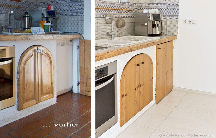 Küche renovieren, Küche Fronten, Küchenfronten, Küchenrenovierung ...