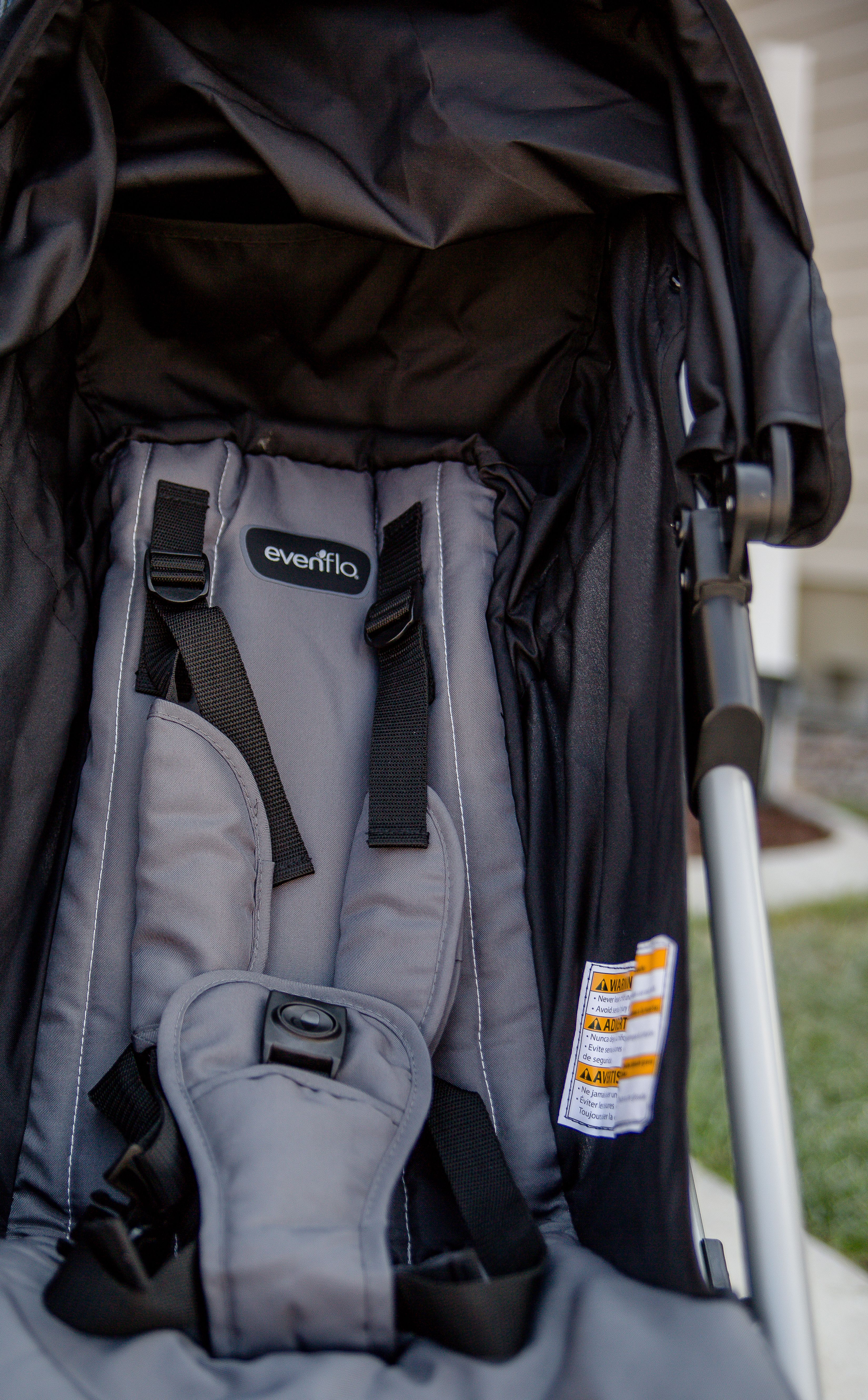 Double Stroller Fun with Evenflo Double strollers