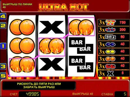 Игровые автоматы онлайн ultra hot