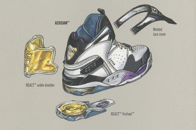 sneaker rendering   Found on sneakerfreaker.com
