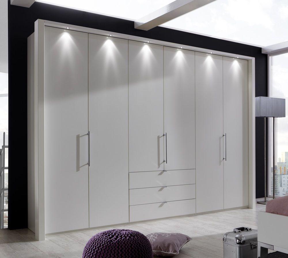 Schlafzimmer Schrank Grau Hochglanz