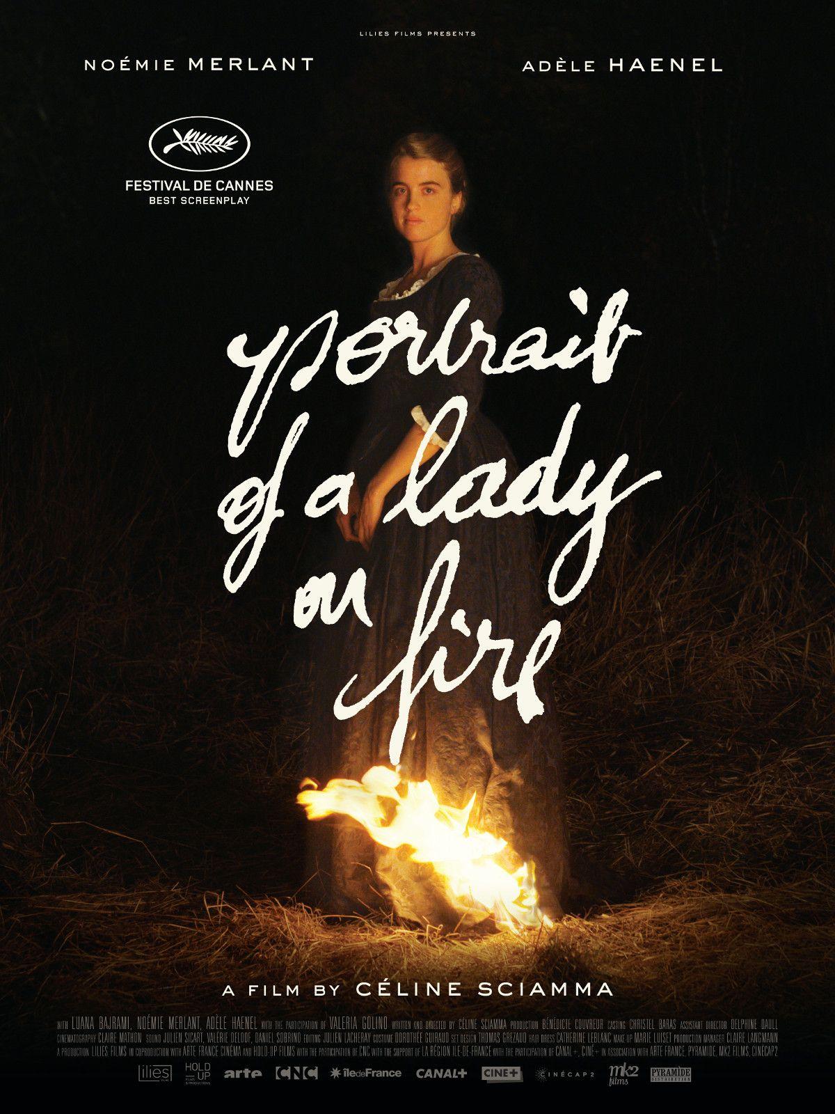 Portrait Of A Lady On Fire Portrait De La Jeune Fille En Feu France Written Directed By Celine Sciam Streaming Movies Online Fire Movie Free Movies Online