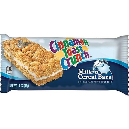 Cinnamon Toast Crunch® Milk N' Cereal Bars, 1.58 Oz., 12