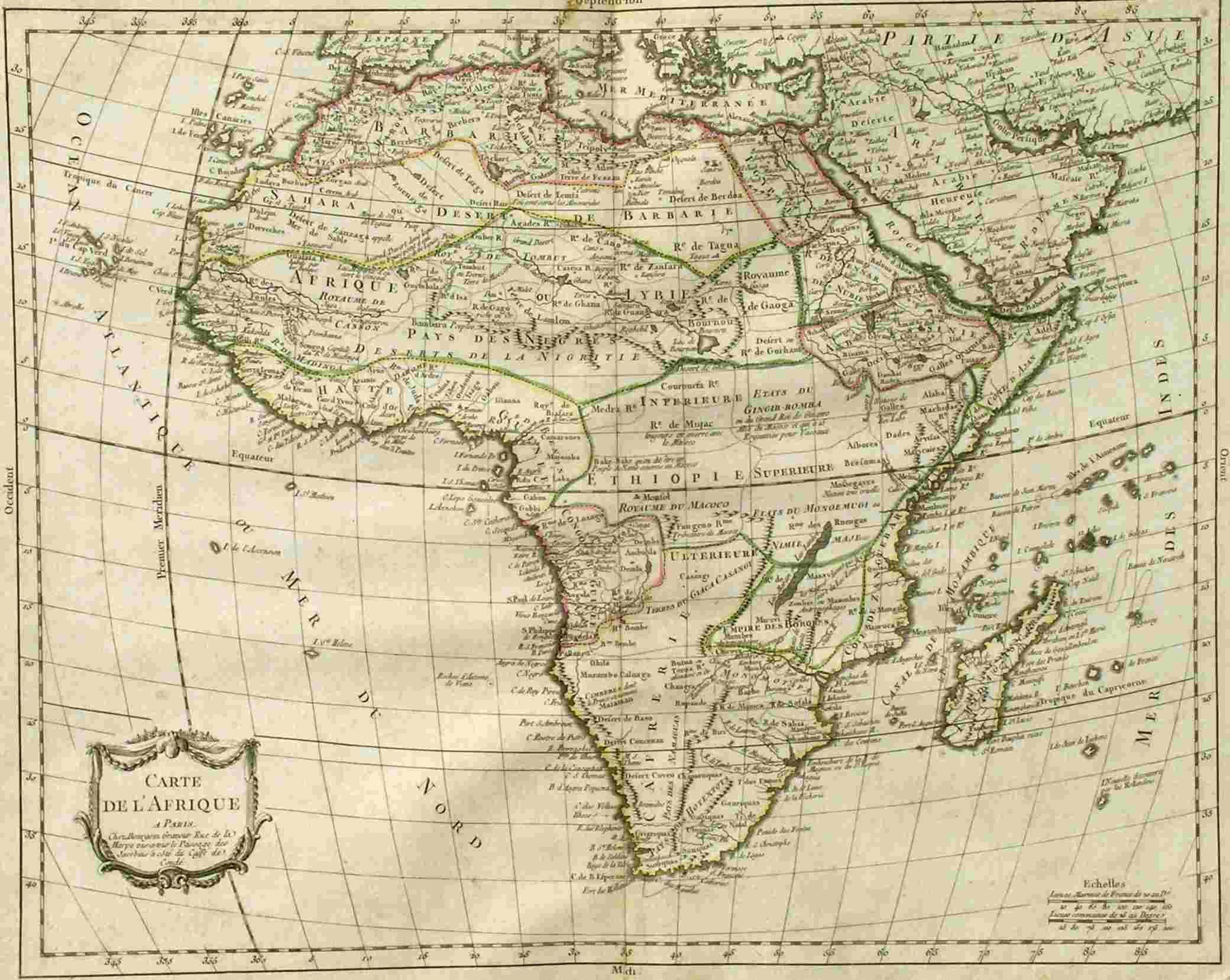 Carte De Lafrique Antique.Carte De L Afrique Maphouse Antique Maps Tatts