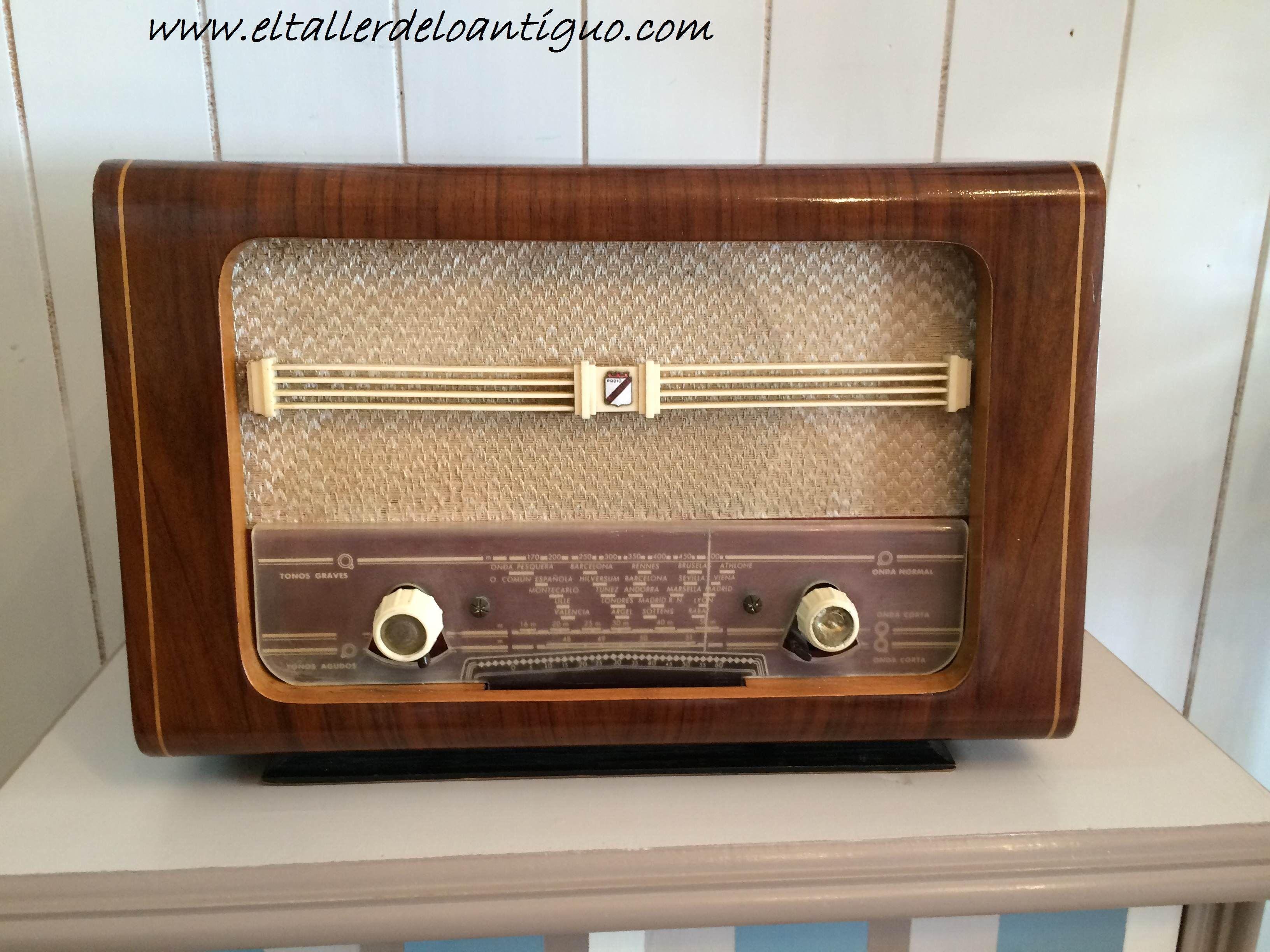 Como reproducir un bot n de radio antigua el taller de - El taller de lo antiguo ...