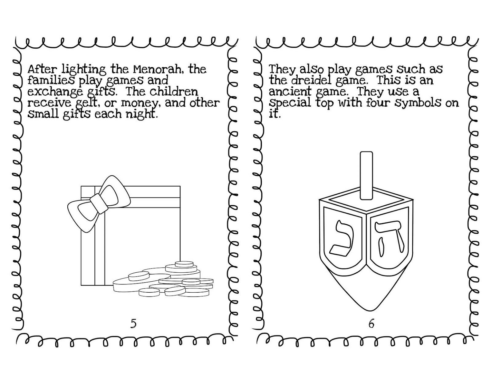 Blooming In First Grade Hanukkah Book Freebie 1st Grade