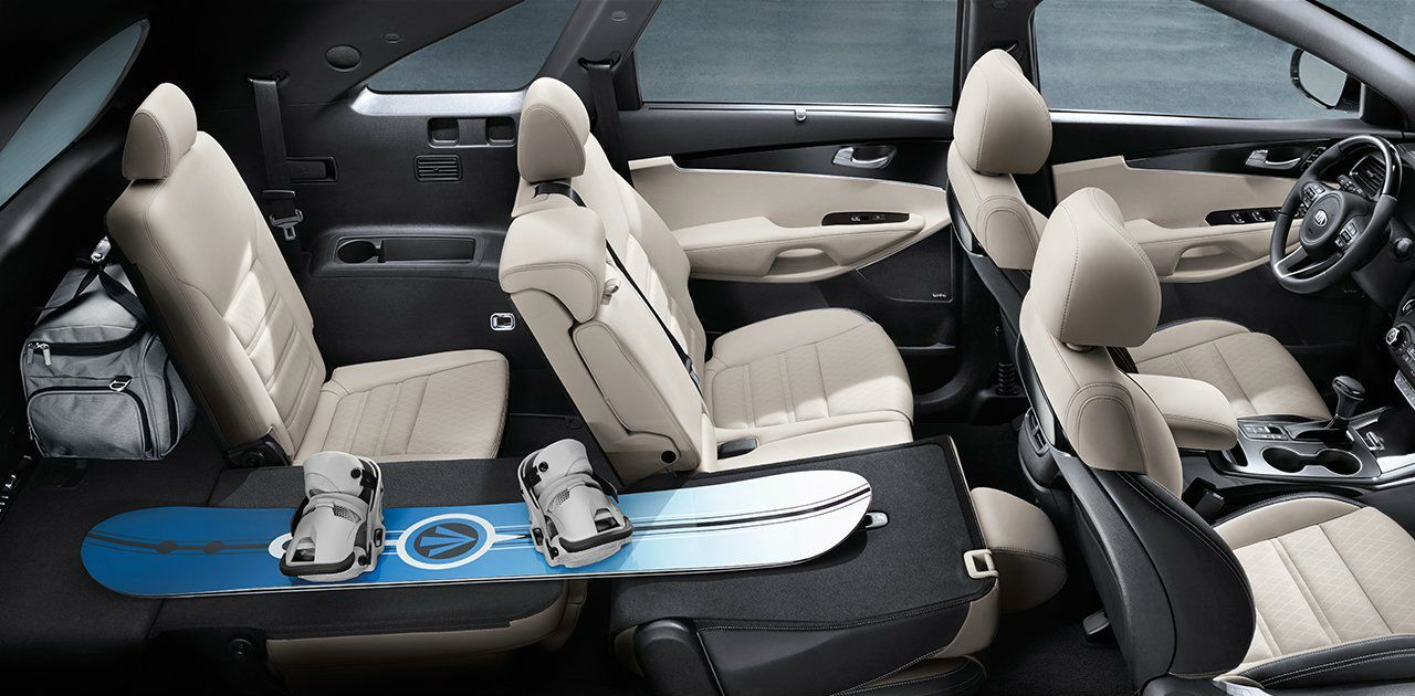 Kia Sorento Interior Design With Seating Passenger Capacity More