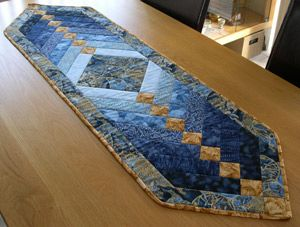French Braid Quilt Table Runner Quilting Pinterest