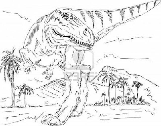 Dinosaurios para colorear - hyperpost | Colorear, Dinosaurios para ...