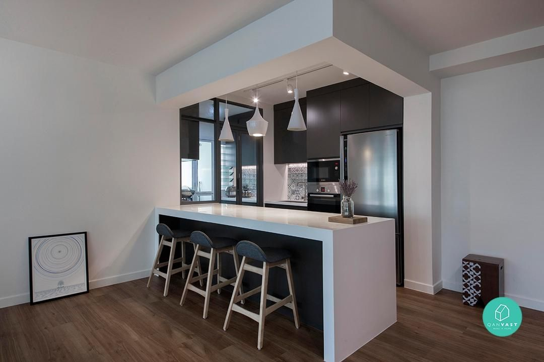 48 KickAss Designs You'll Only See In HDBs Kitchen Pinterest Custom Home Interior Design Websites Remodelling