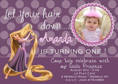 Get rapunzel birthday party invitation ideas birthday pinterest get rapunzel birthday party invitation ideas filmwisefo Images
