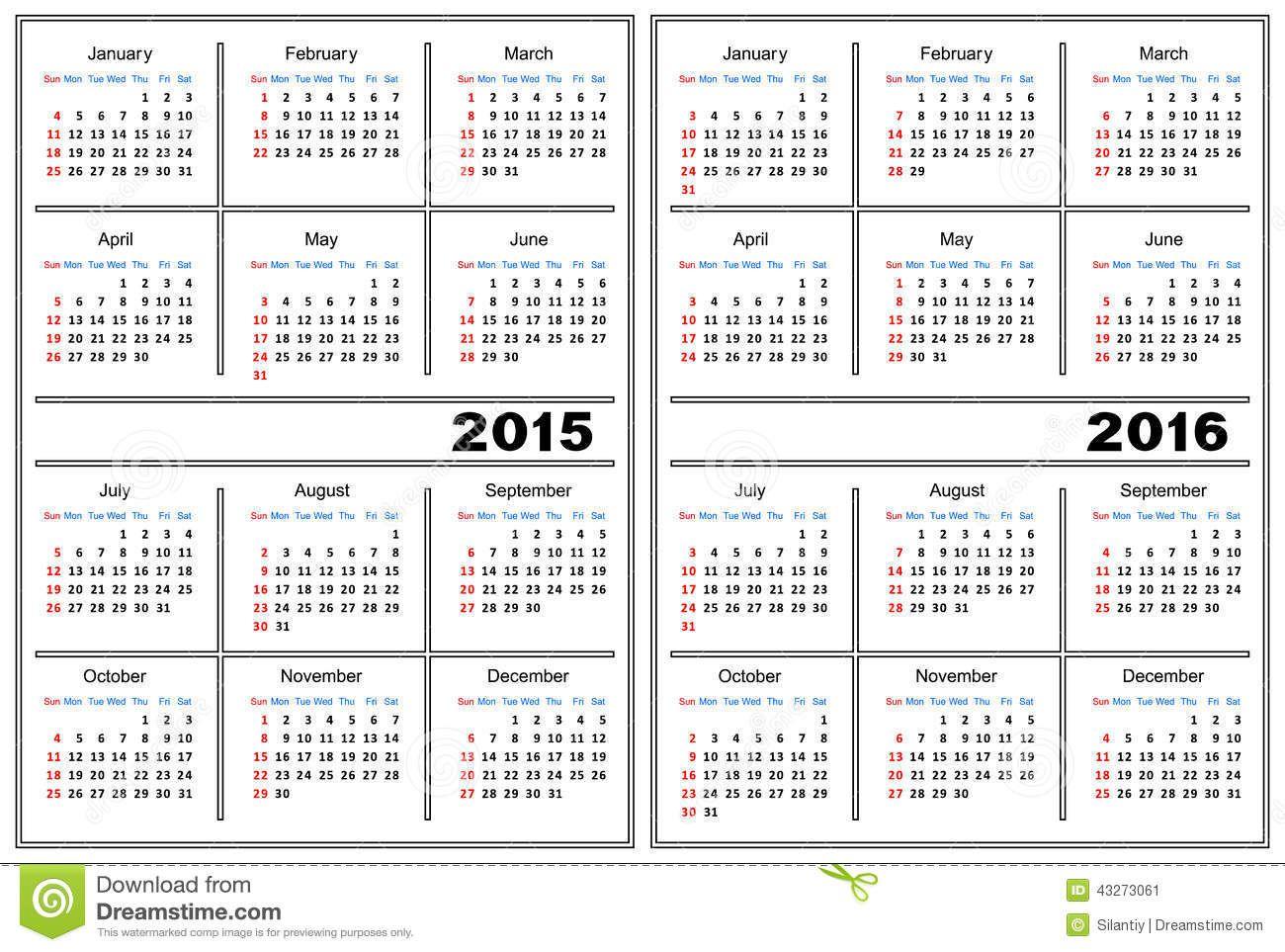 calendar-template-white-color-43273061.jpg (1300×963) | Misc Items ...