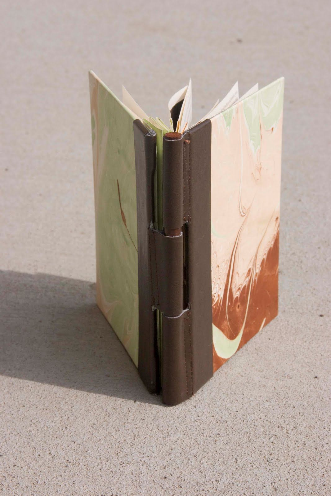 I Did A Combination Between A Flag Accordian And A Piano Hinge Book The Steps Are Pretty Easy Basic Book 1 Cover You Book Making Handmade Books Book Crafts