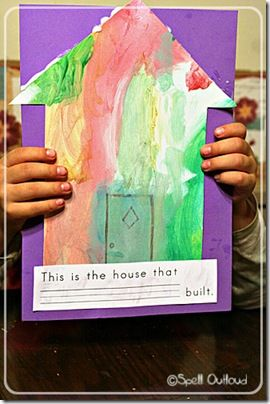 J is for jack the house that Jack built Preschool