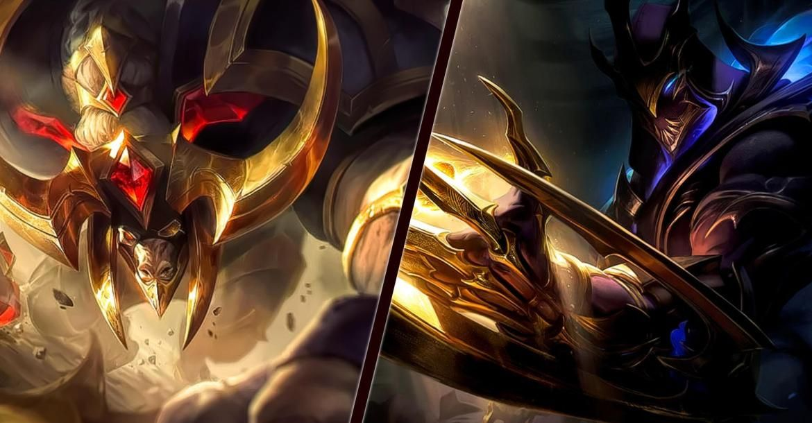 Conqueror Alistar And Galaxy Slayer Zed Skins Will Be Available In Lol Soon Slayer Lol Champions Galaxy