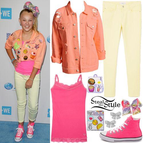 e52dfe313 JoJo Siwa Clothes & Outfits | Steal Her Style | Emoji in 2019 | Jojo ...