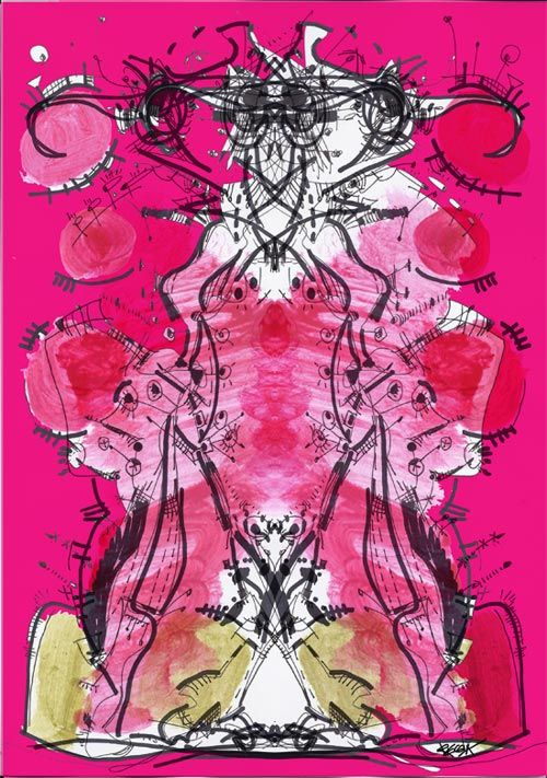 RegiaArt Digital Art. #pink #fuchsia