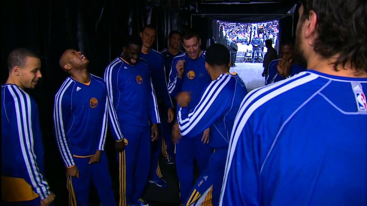 Golden State Warriors Pregame Dance Routine | NBA Playoffs ...