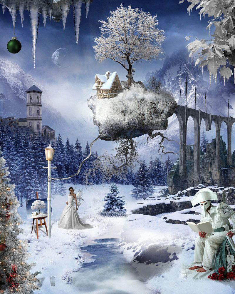 Winter Wonderland by jesusatart on deviantART