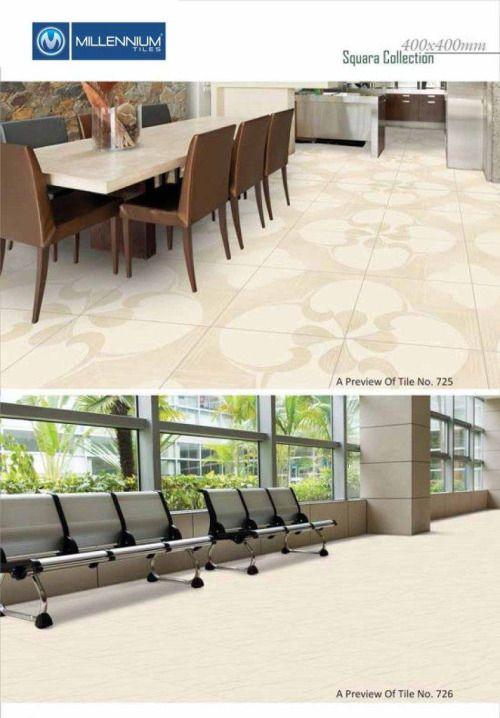 Millennium Tiles 400X400mm (16x16) Ceramic Floor Tiles...  Millennium Tiles 400X400mm (16x16) Ceramic Floor Tiles Squara Collection Series https://goo.gl/Vytrtf - 725 - 726