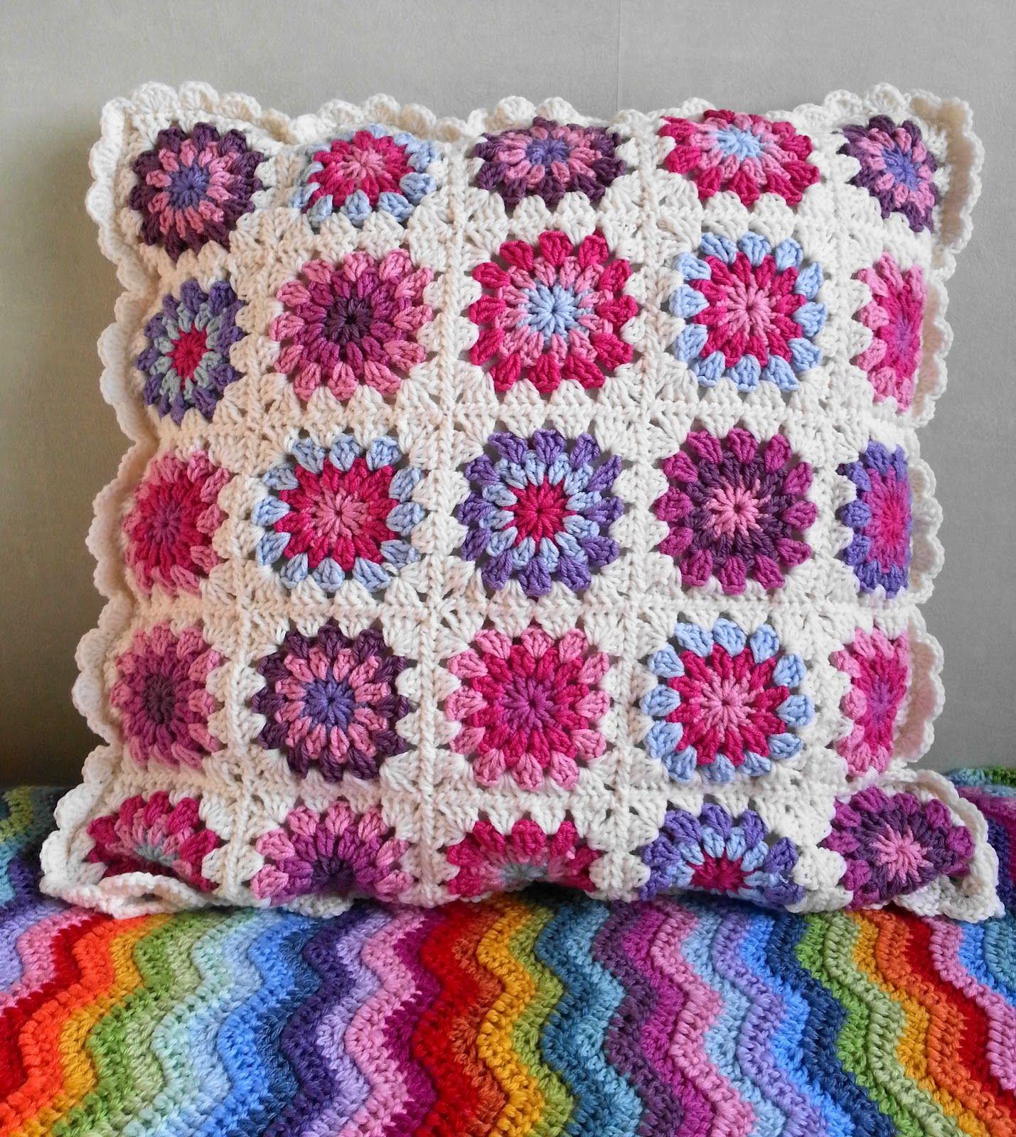 Increíble Los Patrones De Crochet De Alpaca Festooning - Manta de ...