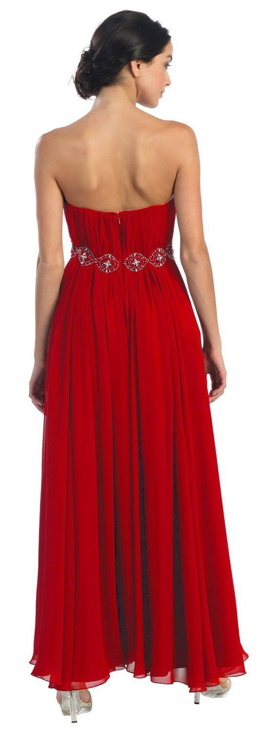 Plus size wedding dresses with red accents  Long Bridesmaids Dress Plus Size Prom Formal  Purple Wedding