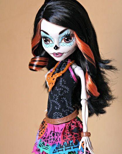 Skelita Calaveras Monster High Doll  c6ed10572b9