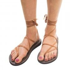 Sandals, Ribbon sandals, Strap sandals