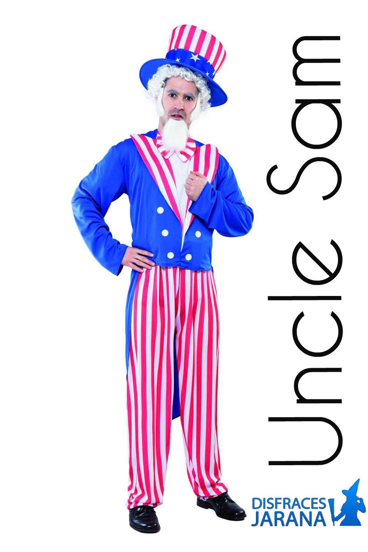 Disfraz De Tio Sam Patriota Para Hombre Disfraces Para Adultos Disfraz Disfraz Hombre