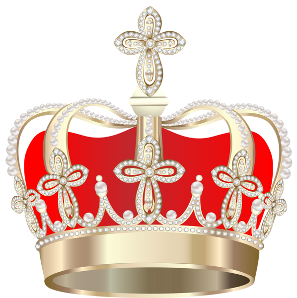 Golden Crown With Hearts Png Clipart Image Crown Png Gold King Crown Crown Clip Art