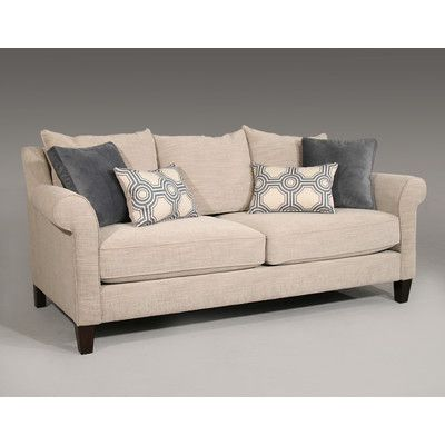 Guildcraft St. Regis Sofa : like the lines.  Not sure about loose cushions on the back