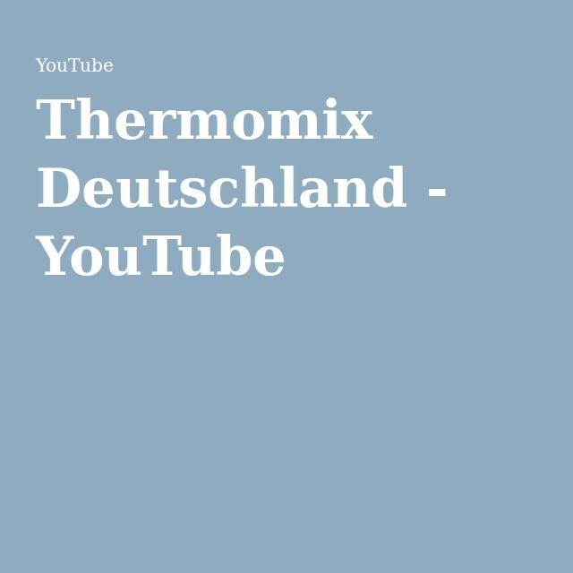 Thermomix Deutschland - YouTube