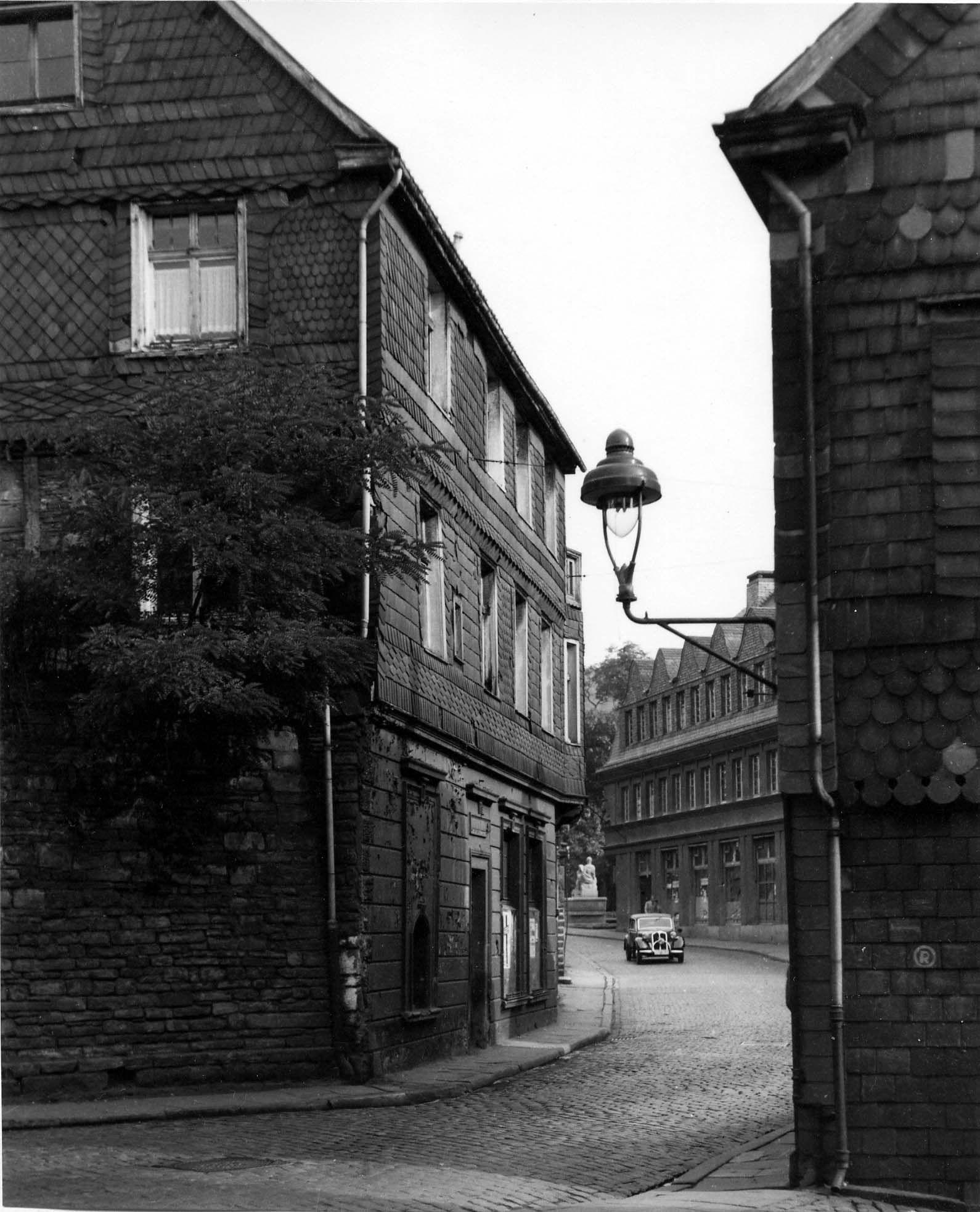 Hauptstraße, Schuhaus Fiege, 30er Jahre, Herdecke