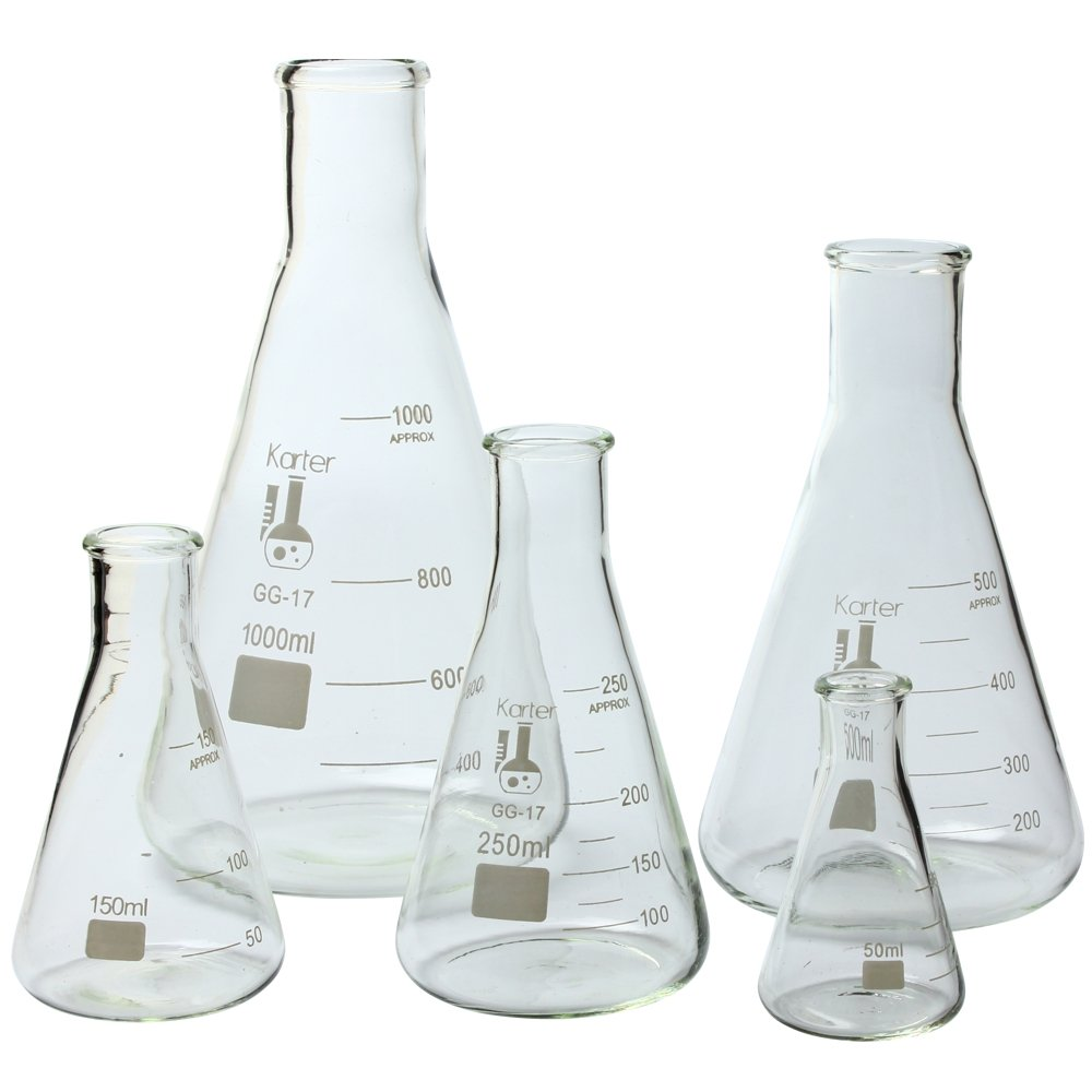 Chemistry Lab Glassware Kit Borosilicate Glass 3.3 Lab Glass