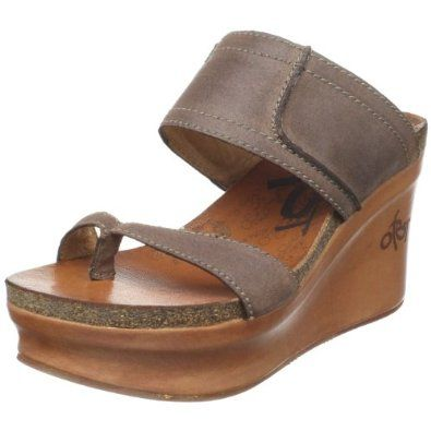 e060d28b518b5 Amazon.com: OTBT Women's Brookfield Wedge Sandal: Shoes | Casual ...