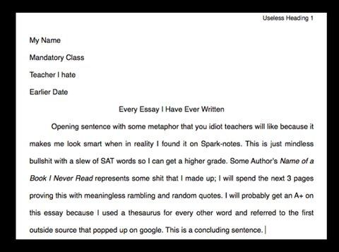 I Actually Care About My Essay But Thi Funny Good Writing Intro Sat Score