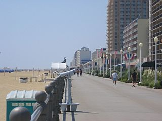 Virginia Beach Boardwalk A Very Hustle And Bustle To