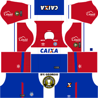 Bahia6 1617 Dls16 Kits De Futebol Futebol