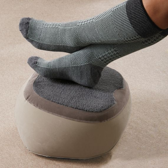 Super Footrest Great To Elevate Feet Legs While Flying - Elevate feet