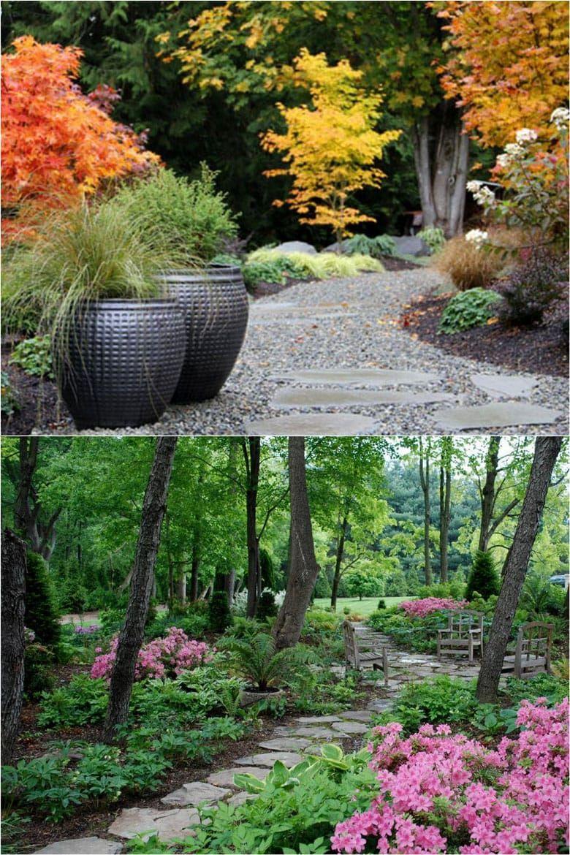 25 most beautiful diy garden path ideas in 2020 on most beautiful backyard landscaping ideas id=25245