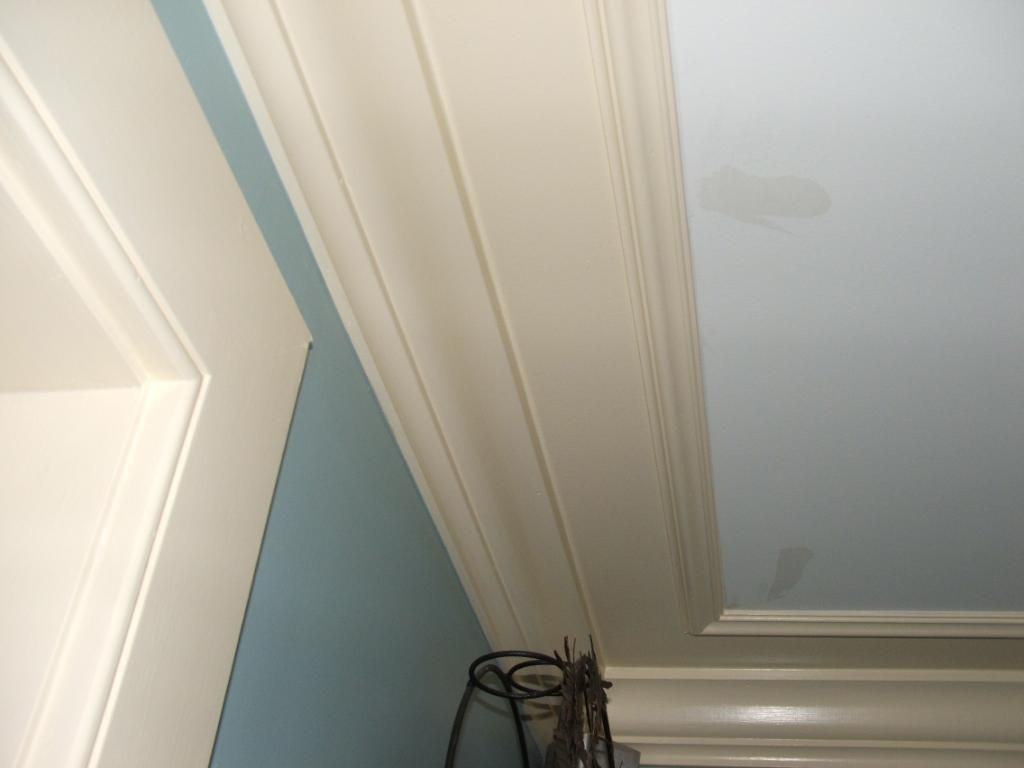 Alternative to crown molding - View Topic Crown Moulding Trick For Low Ceilings