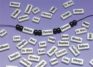 www.ssww.com  Item #: BTN-BE1174  Inspirational Beads Pk/144
