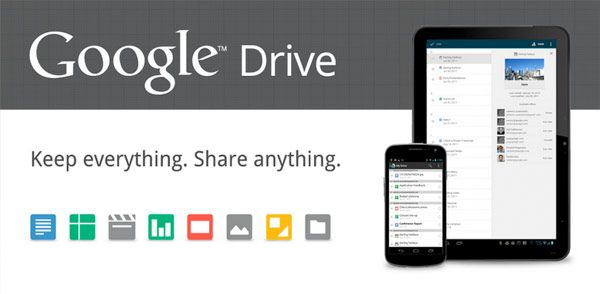 Google Drive official 5GB of free storage, Chrome web