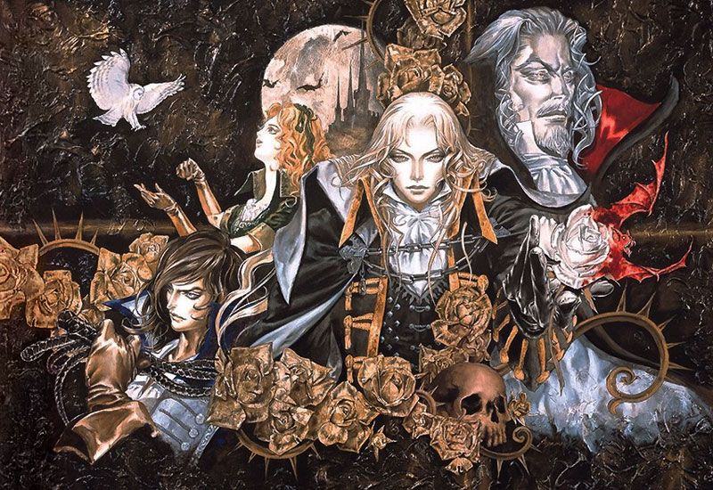 Image result for castlevania symphony of the night art