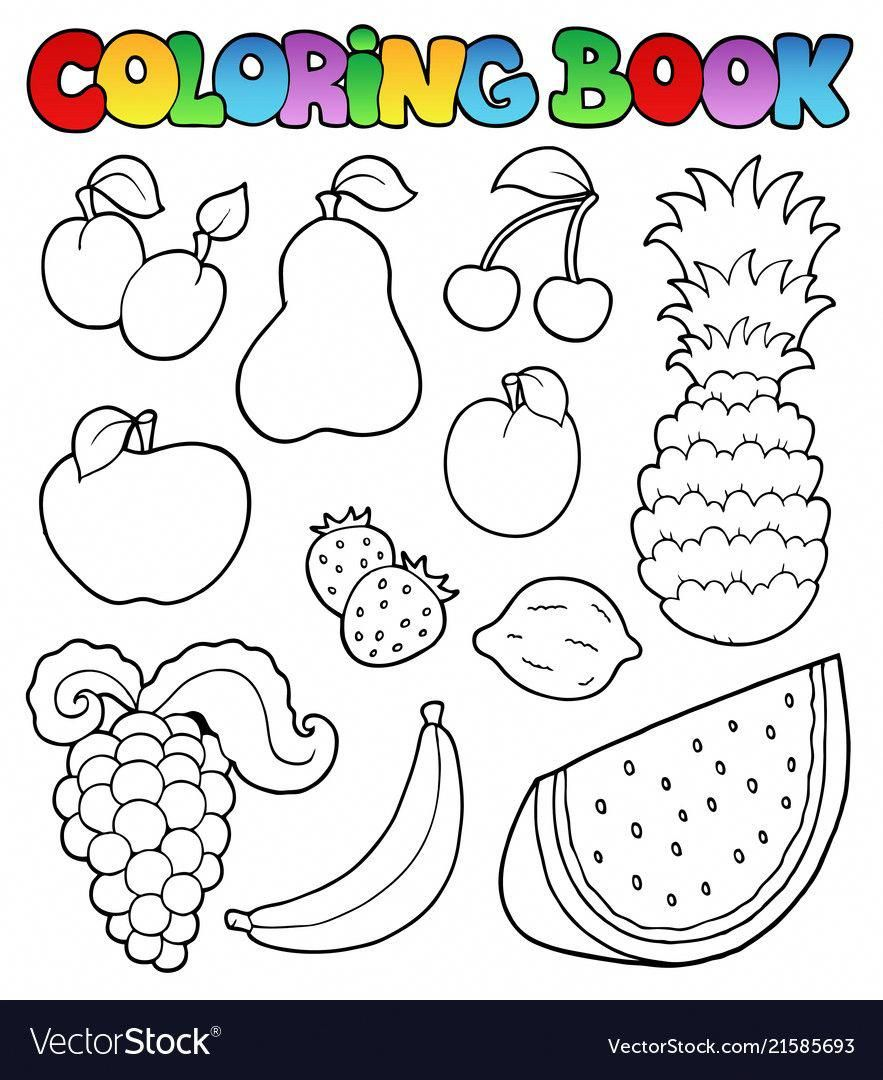 Learnitalianforkids Fruit Coloring Pages Coloring Books Vegetable Coloring Pages