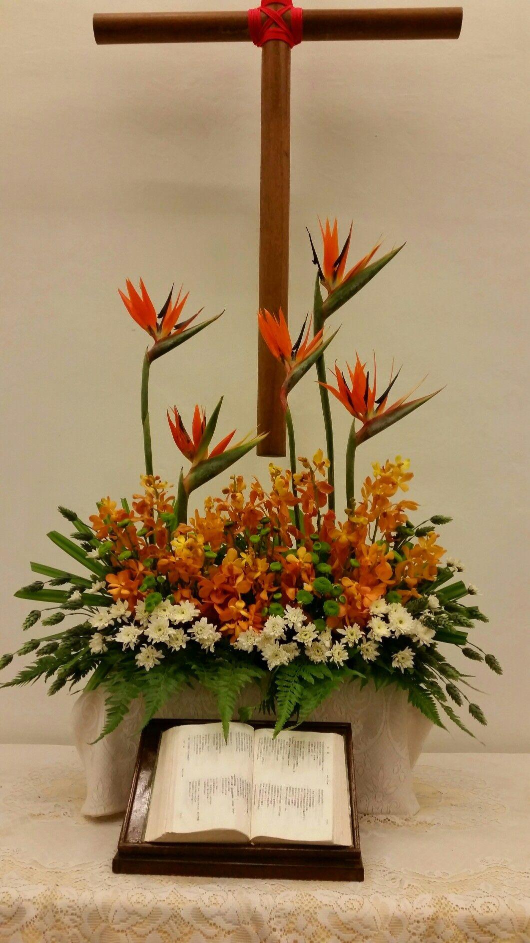 Chapel hall 2016 fresh flowers arrangements fall flower